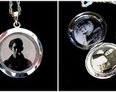Glass Windows - Photo Locket Necklace