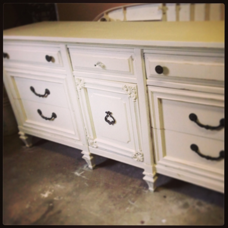 Vaisselier Shabby Chic: Shabby Chic Triple Dresser By JamieElaine On Etsy