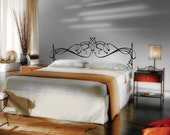 "King Size 76""(W) x 22 3/4""(H) Vinyl Headboard Panel Wall Art Decor Removable Decal No.2201"