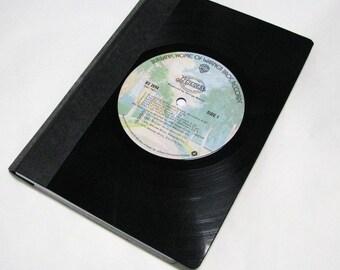 America - Vinyl Record LP Notebook