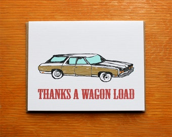 Thanks a Wagon Load