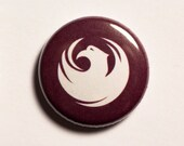 "1"" Phoenix AZ flag button - Arizona, city, pin, badge, pinback"