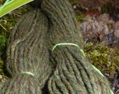 SAGE - 112 yards worsted weight 5-ply Merino - Handspun