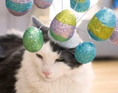 Easter Cat Hat / The Easter Egg Hunt Cat Fascinator
