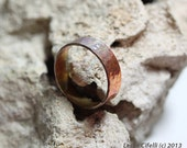 IMJ Simple Hammered Copper Ring