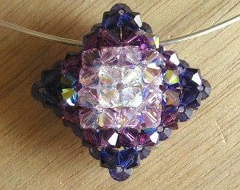 Princess Pillow Pendant Tutorial / Instructions with Ombre Addendum