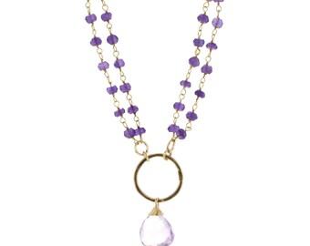 Stone Lace Necklaces