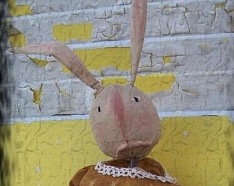 Primitive Doll Spring Rabbit Snickerdy