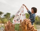 Chrysanthemum Scarf // Silk // BEAM Textiles - CallieHelen