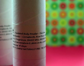 Powder Nag Champa Body Powder Talc Free from Toadstool Soaps