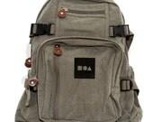 Backpack Bauhaus Block, Canvas Backpack, Rucksack, Travel Backpack, Bag, Small Backpack, Weekender Bag, Men's Backpack, Women's Backpack