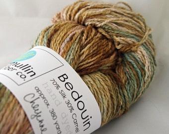 CHEYENNE Bedouin Camel Silk Sock Yarn
