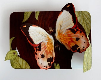Butterfly Pop Up Card - Garden mechanical greeting card. A unique keepsake gift for anniversary, birthday or special occasion.