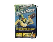 Creature from the Black Lagoon Makeup Bag / Pencil Pouch - Vintage Horror - Monster Classic