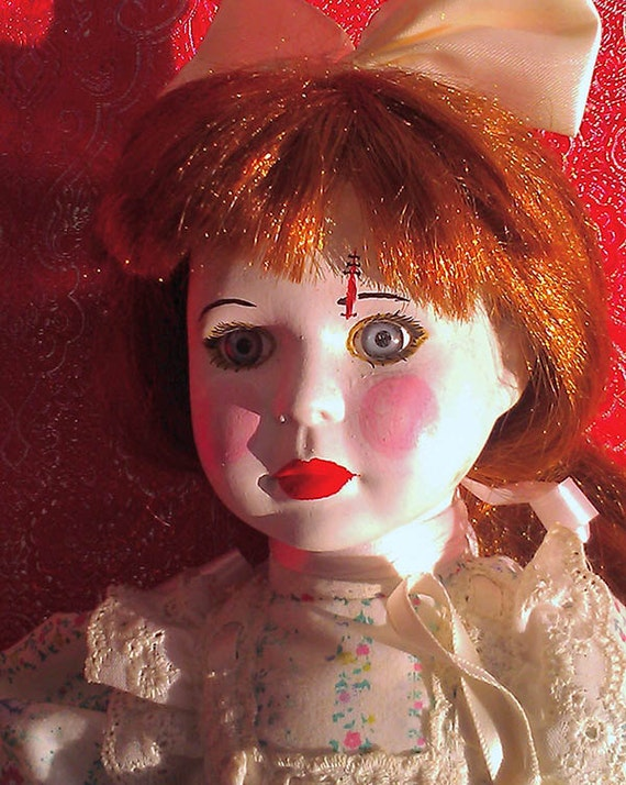 50% OFF Dame Darcy Valentine Art Doll Pepper White Gothic Lolita Witch