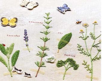 Kazuko Aoki Stitch Diary of Four Seasons - Japanese Craft Book