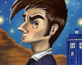 Doctor Who - 10th Doctor Poster