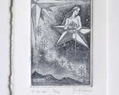 17: The Star - limited edition fine art intaglio etching