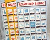 Road Trip Bingo Paper Ephemera Mixed Media Supply