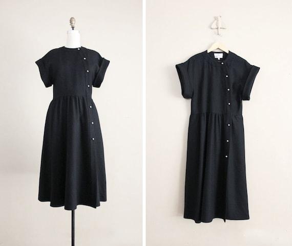 vintage Chloe dress / wool military dress