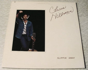 CLEARANCE Chris Hillman Slippin' Away Vinyl Record Album LP - vintage 1976 obscure // old music format