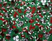 """36"""" Dog Christmas Tree Skirt,  36"""" Dog Tree Skirt, Pet Lover Tree Skirt, Dog Lover Tree Skirt, Handmade by AnnieKDesigns"""