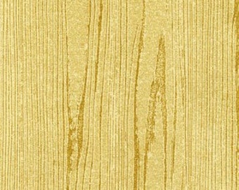 Wood Texture - Gold - 1 Yard - 9.75 Dollars