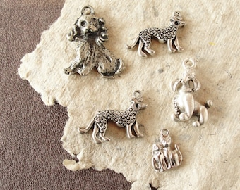 Cats and Dogs Charm Pendants