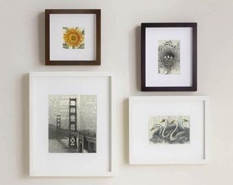 Set of Four Prints ,San Francisco theme