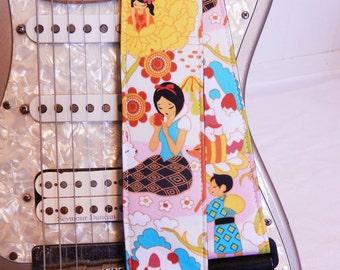 Snow White Fairy Tale Anime Guitar Strap