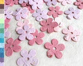 100 Seed Paper Daisies Flower Confetti Wedding Favors - Flower Seed Paper Daisy - Blush Pink Rose Plantable Paper Love Grows