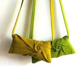 SUPER SALE  starburst pleat bag - goldenrod crossbody bag - pleated crossbody purse