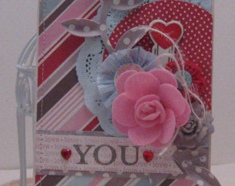 love YOU - Card and Envelope