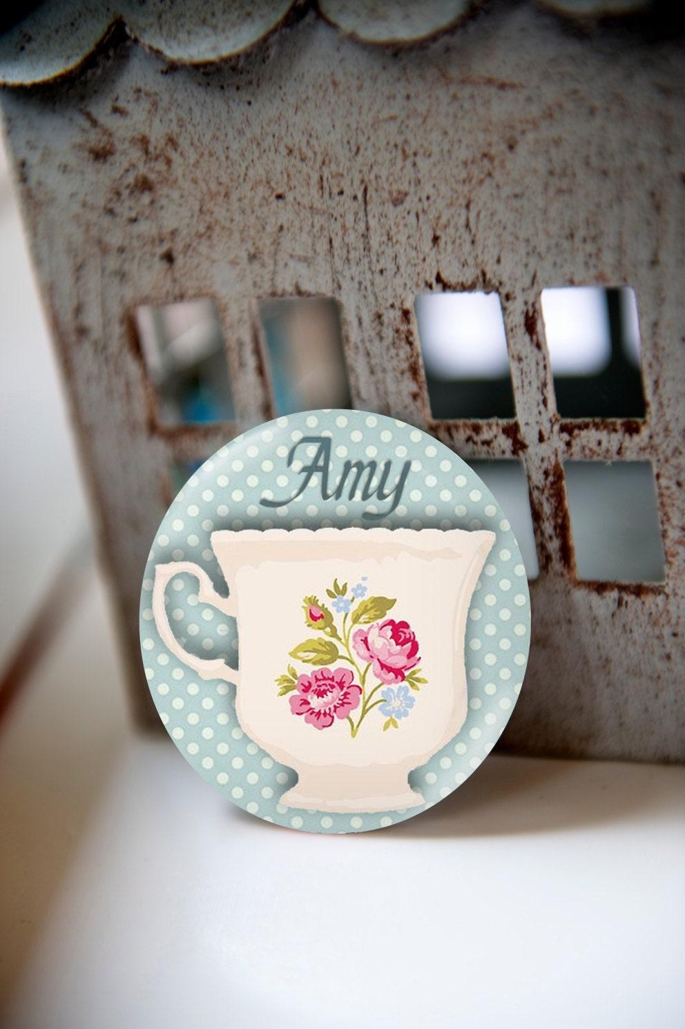 Pocket mirror tea party favors tea party decorations tea for Teacup party favors
