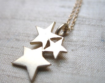 The Starlight Pendant in 14kt Gold- Shiny