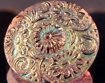 Czech Glass Button - 22.5mm