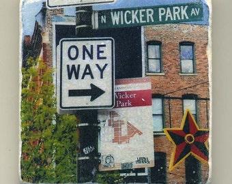 Wicker Park -  Original Coaster