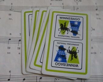 Vintage Winnebago Playing Cards- Set of 10