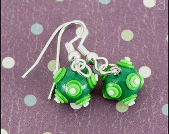 Mini Katamari Drop Earrings (Made to Order)