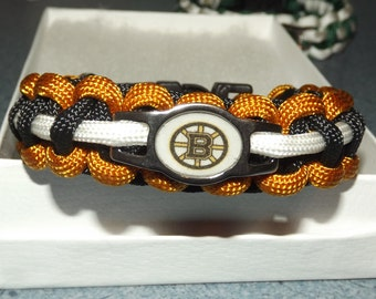 Boston Bruins Paracord Bracelet