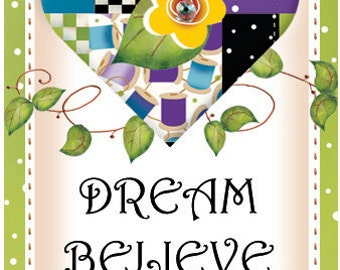 Magnet - DREAM, BELIEVE, REJOICE