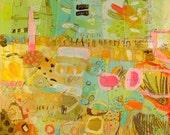 Paint, Draw, Scribble Canvas Print Jennifer Mercede 24x30