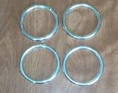 3 Inch Nickel Plated STEEL O Rings