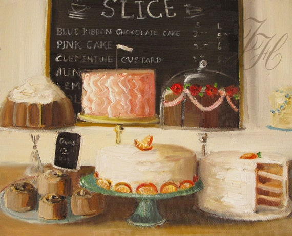Still Life- A Small Slice- Art Print