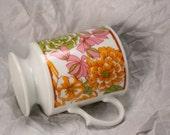 Vintage Coffee Mug Footed