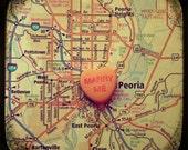 marry me peoria candy heart art map 5x5 ttv photo print wall art decor