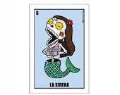 La Sirena Small Vinyl Sticker