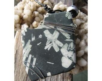 Chinese Writing Stone - Personal Pendant
