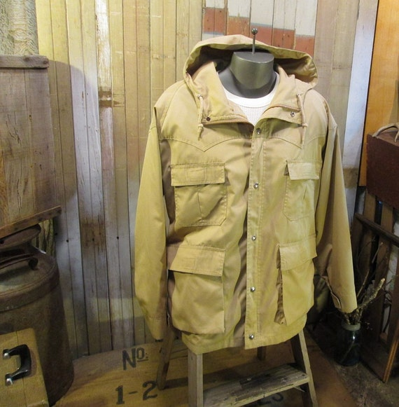 Vintage Pacific Trail Parka Outdoor Jacket Western Cotton