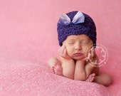 Newborn Baby Girl Hat with Bow Photography Prop